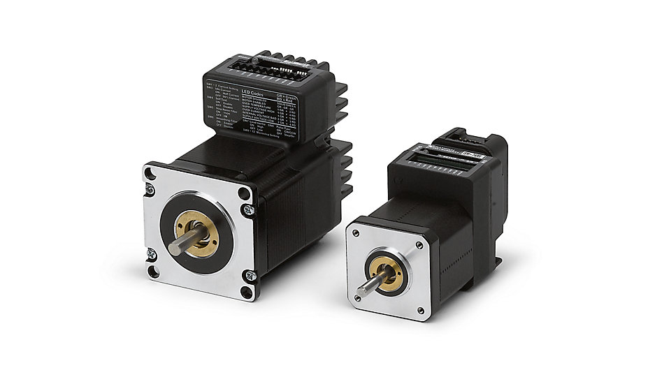Stepper and servo motor motion drive device national for Integrated servo motor and drive
