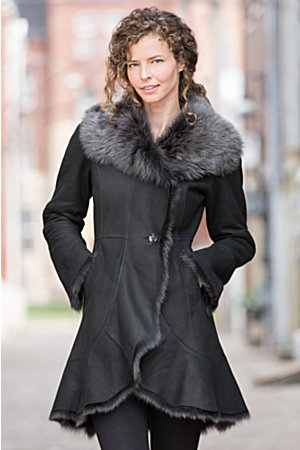 Women's Fur-Trimmed Coats - Overland