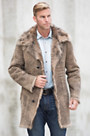 Edson Reversible Toscana Sheepskin Coat