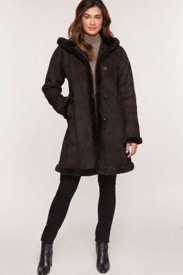 Krista Shearling Sheepskin Coat