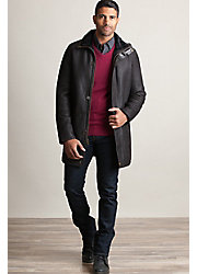 Anderson Spanish Merino Sheepskin Coat