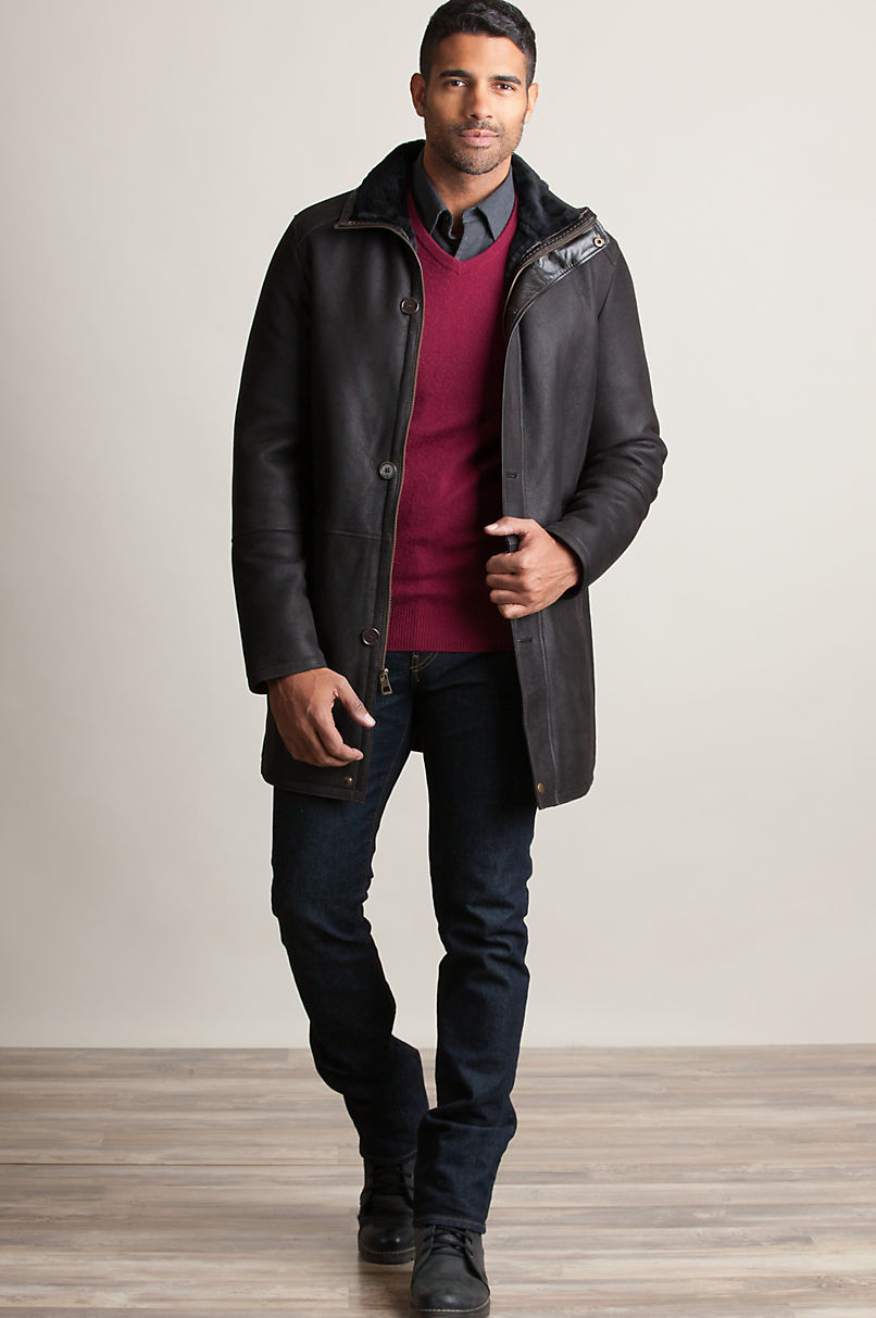 Anderson Spanish Merino Shearling Sheepskin Coat