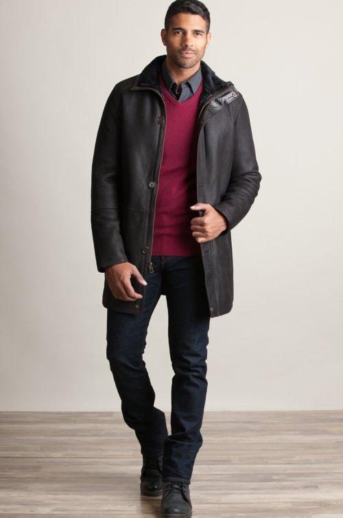 Anderson Spanish Merino Sheepskin Coat