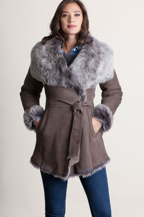 Gina Spanish Toscana Sheepskin Coat