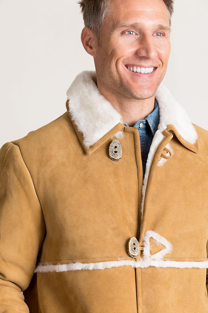 Wyatt Shearling Sheepskin Rancher Coat