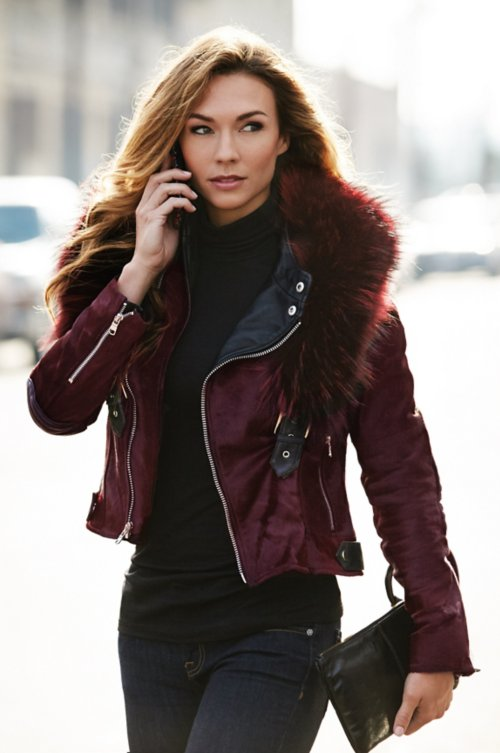 Women S Leather Jackets Overland