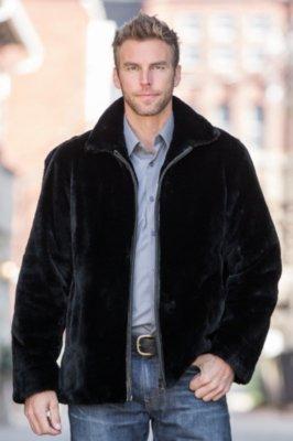 Ponti Sheared Beaver Fur Bomber Jacket