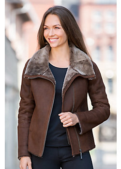 Desiree Shearling Sheepskin Jacket