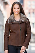 Desiree Shearling Sheepskin Jacket
