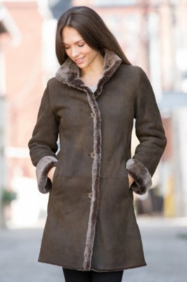 Tara Shearling Sheepskin Coat