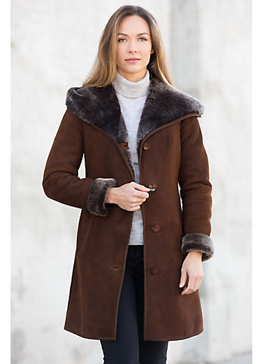 Women's Sheepskin Coats | Overland [Updated Styles 2017]