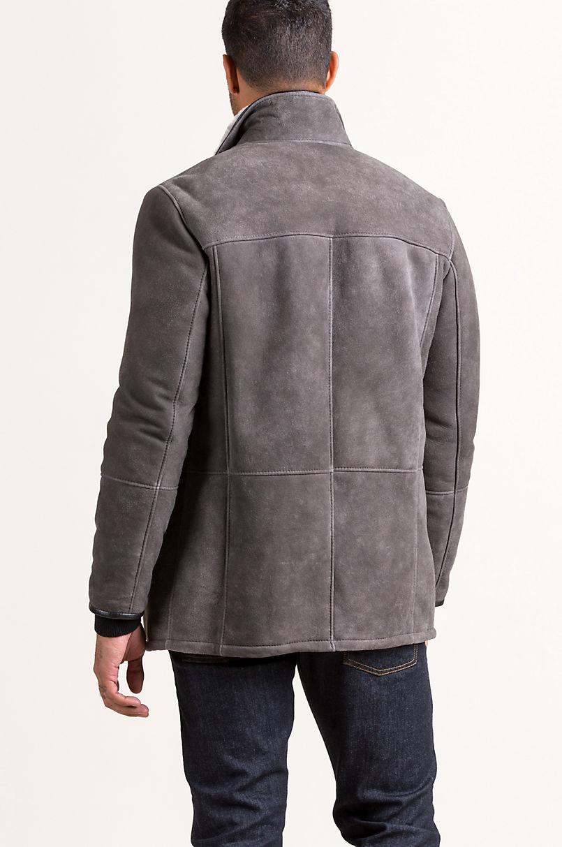 Lucas Spanish Merino Shearling Sheepskin Coat