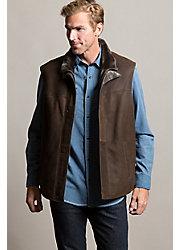 Eli Shearling Sheepskin Vest
