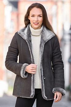 Jesslyn Shearling Sheepskin Coat