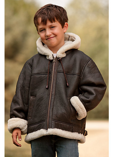 Boys Shearling Coat - Sm Coats