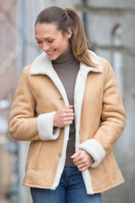 Holly Shearling Sheepskin Jacket