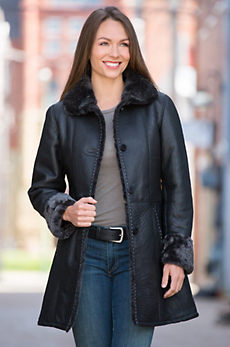 Diana Shearling Sheepskin Coat