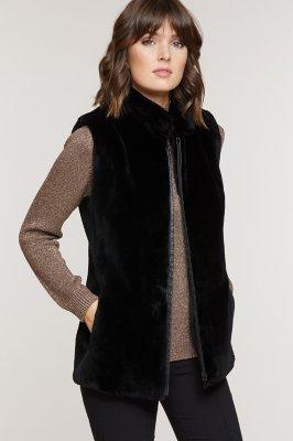 Shannon Classic Beaver Fur Vest