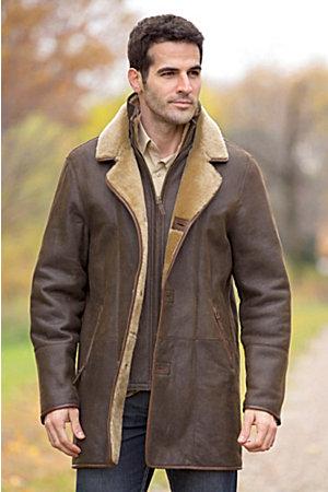 Daniel Shearling Sheepskin Coat | Overland