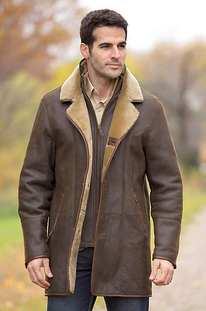 Daniel Shearling Sheepskin Coat | Overland