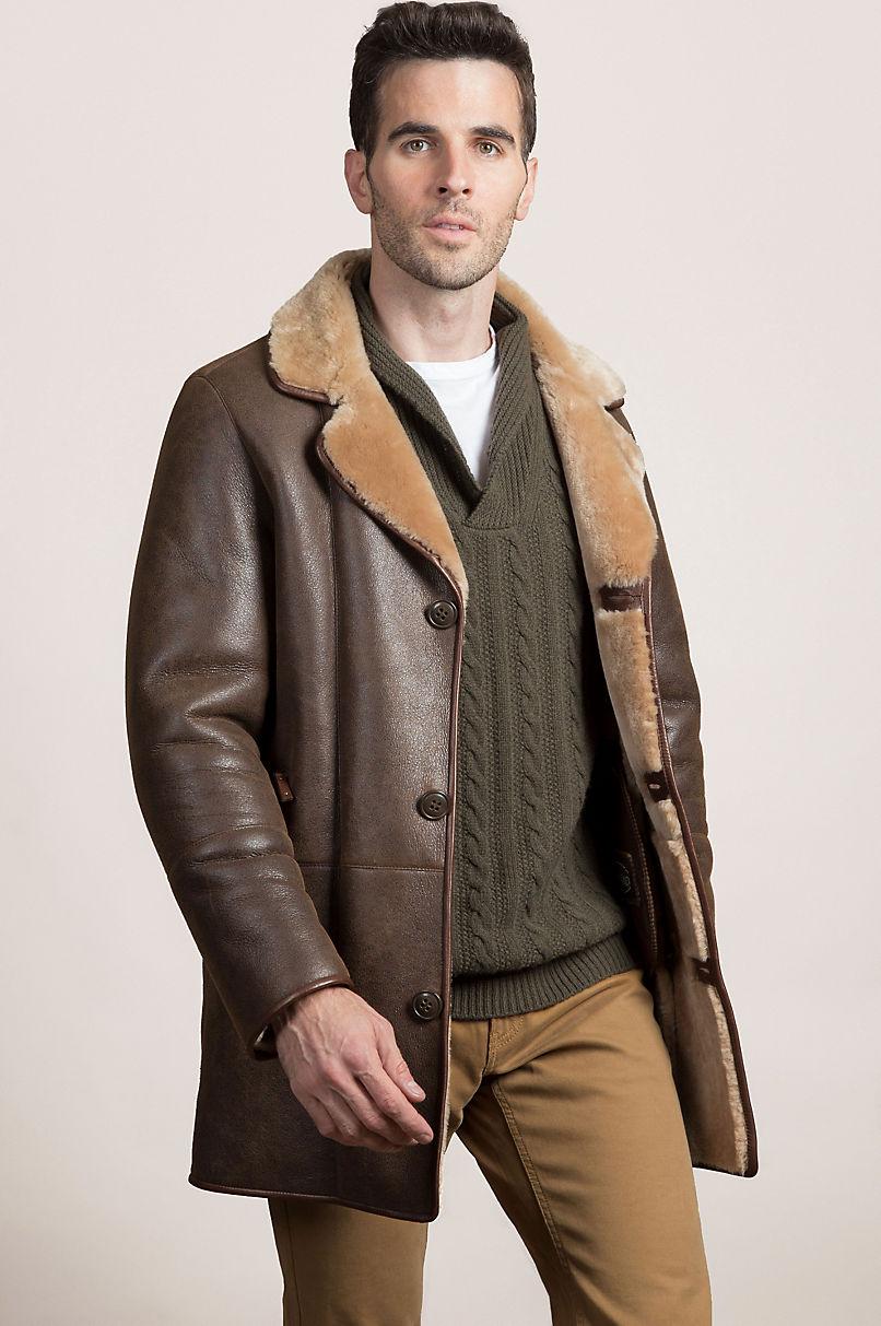 Daniel Shearling Sheepskin Coat   Overland