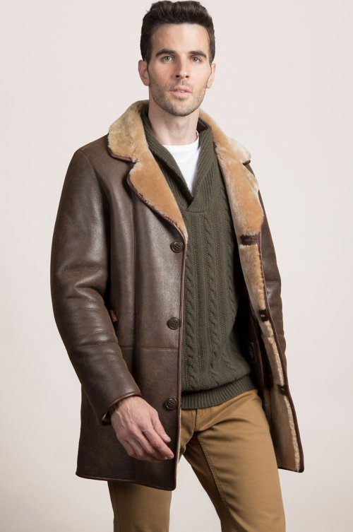 Daniel Spanish Merino Shearling Sheepskin Coat