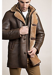 Daniel Shearling Sheepskin Coat