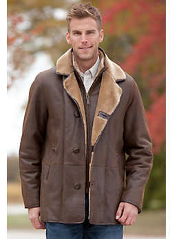 Carter Shearling Sheepskin Coat