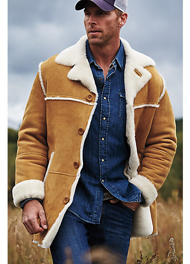 Men's Sheepskin Coats | Overland [Updated Styles 2017]
