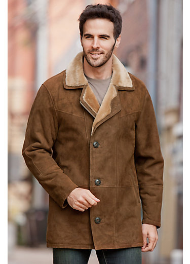 Executive Shearling Sheepskin Coat