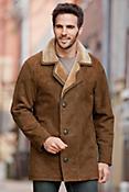 Executive Shearling Sheepskin Coat