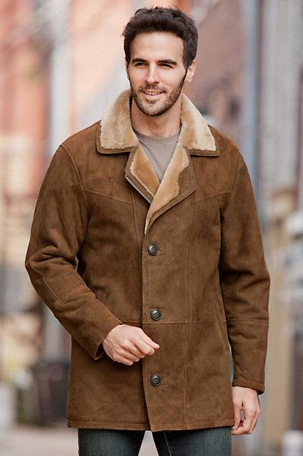 Executive Shearling Sheepskin Coat   Overland