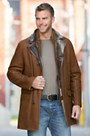 Otis Shearling Sheepskin Coat