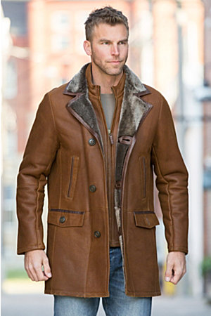 Men's Sheepskin Coats - Overland