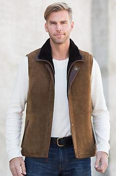 Explorer Shearling Sheepskin Vest