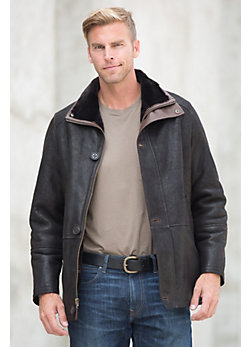 Oxford Shearling Sheepskin Jacket