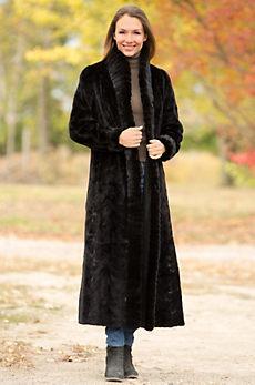 Hayley Reversible Danish Mink Fur Coat