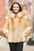 Myrna Red Fox Fur Jacket