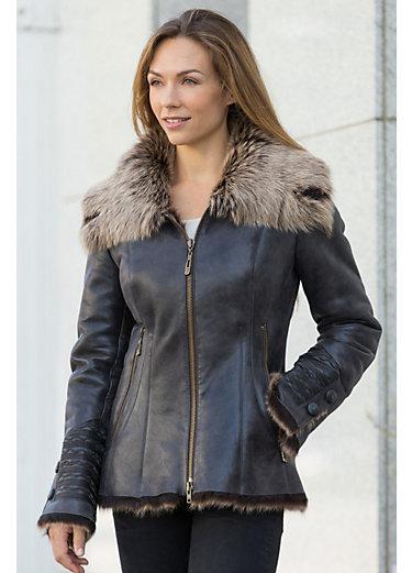 Katia Toscana Sheepskin Coat