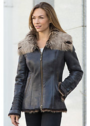 Katia Toscana Sheepskin Coat