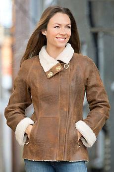 Alexandra Shearling Sheepskin Jacket