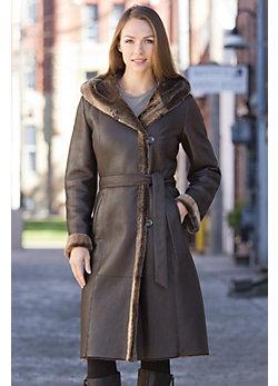Nadia Shearling Sheepskin Coat