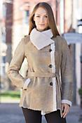 Deena Shearling Sheepskin Coat