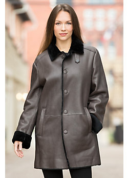 Gwyneth Shearling Sheepskin Coat