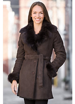 Vivien Shearling Sheepskin Coat