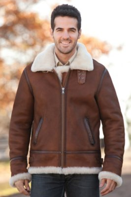 Jason Sheepskin B-3 Bomber Jacket | Overland
