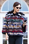 Cecily Fox Fur Jacket