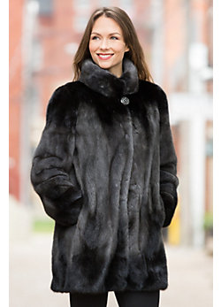 Delilah Danish Mink Fur Coat