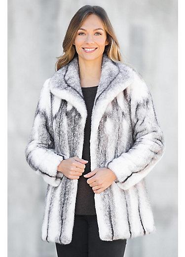 Women's Mink Fur Coats - Overland