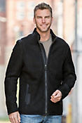 Rupert Shearling Sheepskin Jacket with Wool Trim